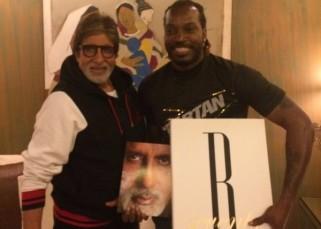 Meet Amitabh Bachchan's new FAN, West Indies cricketer Chris Gayle!