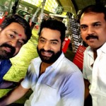 This selfie of Mohanlal and Jr NTR from the sets of Janatha Garage is breaking the internet!