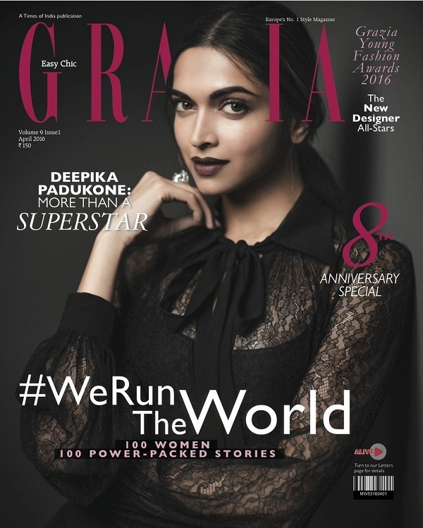 Deepika Padukone Strikes A Sultry Chic Look On The Latest Mag Cover That You Cannot Miss