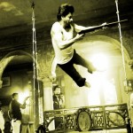 Shah Rukh Khan is BAD TO THE BONE in this action still from the sets of Raees!