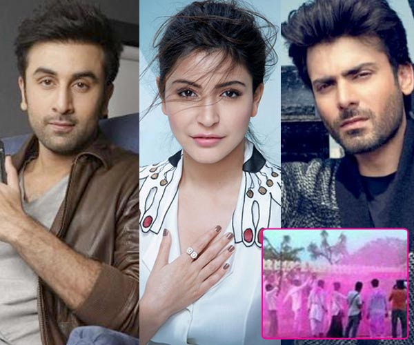 After A Wedding Song Fawad Khan Ranbir Kapoor And Anushka Sharma Shoot For