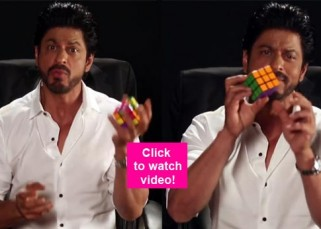 Shah Rukh Khan solving Rubik's cube in 10 SECONDS will make your jaws hit the floor –watch video!