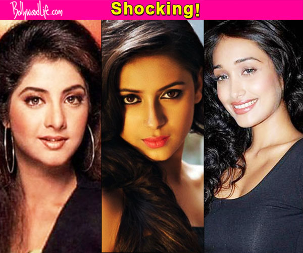 Pratyusha Banerjee Jiah Khan Divya Bharti 5 Untimely Deaths Which SHOCKED The Showbiz