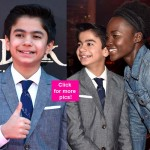 Neel Sethi and Lupita Nyong'o share the cutest moments at the premiere of The Jungle Book - view HQ pics!