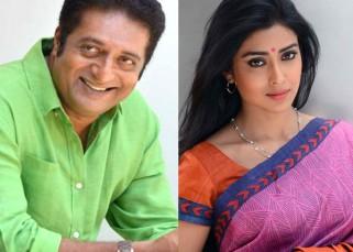 Prakash Raj ropes in Shriya Saran for his directorial debut Tadka!