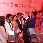 Shah Rukh Khan, Aishwarya Rai Bachchan share a CANDID moment with Prince William --view pic!