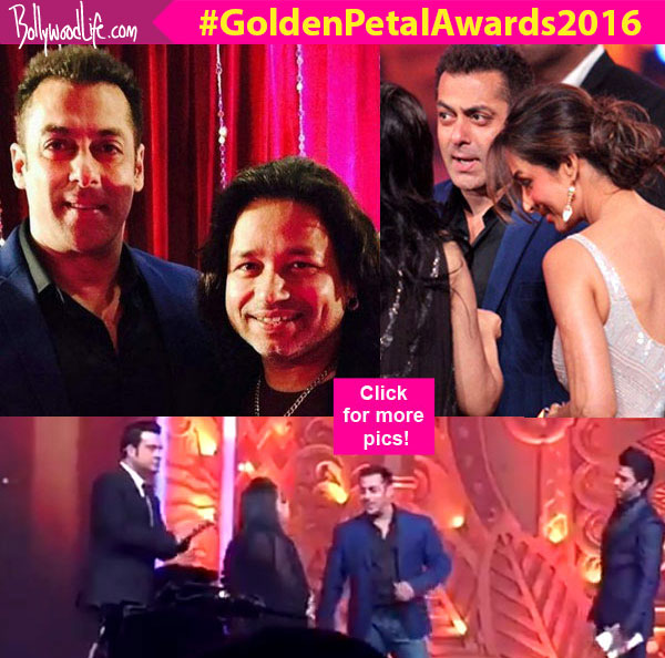 Colors Golden Petal Awards 2016: Golden Petal Awards 2016: Here's How Salman Khan ROCKED