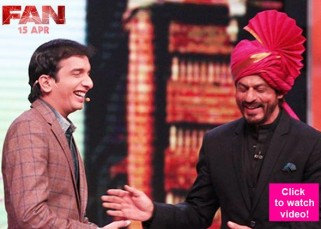 5 best moments from Shah Rukh Khan's starry appearance on Chala Hawa Yeu Dya which will MESMERISE you!