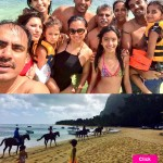 Lara Dutta celebrates a sun-kissed birthday with family in Mauritius - view pics!