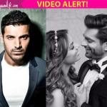 Ex flame John Abraham gives a SHOCKING REACTION on Bipasha Basu and Karan Singh Grover's wedding - watch video!