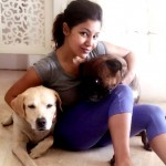 Debina Bonnerjee extends a helping hand to an ailing stray