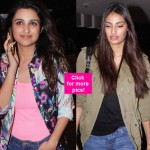 Athiya Shetty, Parineeti Chopra, Kalki Koechlin ROCK the casual look at the airport - view HQ images!