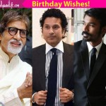 Amitabh Bachchan, Dhanush and Ayushmann Khurana wish Sachin Tendulkar a very happy birthday!