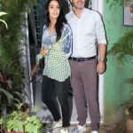 Mallika Sherawat and her boyfriend Cyrill Auxenfans look totally in love as they go out on a lunch date - view pics!