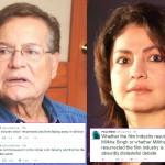 Pooja Bhatt SLAMMED Salim Khan for defending Salman Khan's Olympics goodwill ambassador appointment?