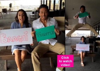 Tiger Shroff's gravity defying stunt for Baaghi promotions will make your jaws drop - watch video!