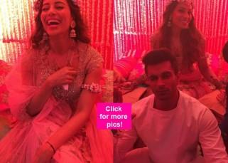 Bipasha Basu and Karan Singh Grover look adorable at their mehendi ceremony - view pics!