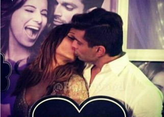 Here's presenting Bipasha Basu and Karan Singh Grover's first kiss post marriage