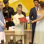 Kangana Ranaut looks STUNNING as she collects her THIRD National Award - view pic!