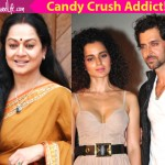 Hrithik Roshan and Kangana Ranaut are interrupting my Candy Crush game, says Aditya Pancholi's wife Zarina Wahab!