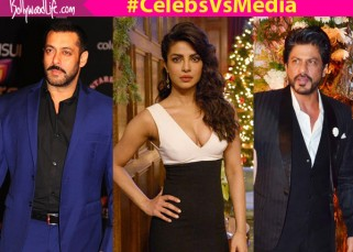 Shah Rukh Khan, Priyanka Chopra, Salman Khan - 7 times Bollywood celebrities got into an UGLY FIGHT with the media - watch videos!