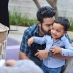 Jr NTR's son Abhay's super adorable pictures from Janatha Garage sets will end your Monday on a good note!