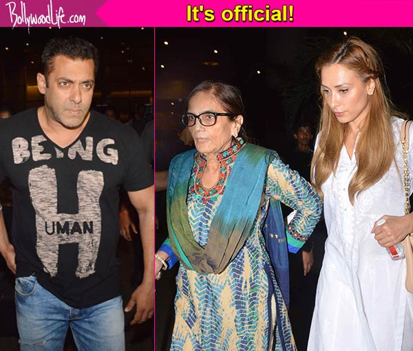 Salman Khan's family OFFICIALLY accepts his girlfriend Iulia Vantur and we have proof - view HQ ...