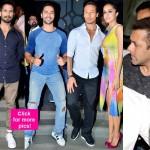 Salman Khan, Varun Dhawan, Shahid Kapoor join Baaghis Shraddha Kapoor and Tiger Shroff at the success bash - view HQ pics!
