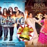 Ghanta Awards: Shah Rukh worst actor, Salman's Prem Ratan Dhan Payo worst film