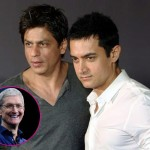 Shah Rukh Khan and Aamir Khan to dine together, thanks to Apple CEO Tim Cook!