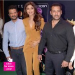 Salman Khan, Anil Kapoor and Shilpa Shetty have a mini reunion at IIFA press conference- view HQ pics!