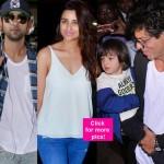 Shah Rukh Khan, Abram, Ranbir Kapoor, Parineeti Chopra, R Madhavan up the style quotient at the airport – view HQ pics!