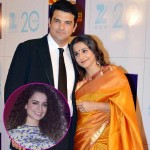 Vidya is clueless about her fight with hubby Siddharth over supporting Kangana!