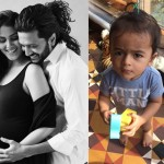 Riteish Deshmukh and Genelia Deshmukh's son Riaan welcomes his baby brother in the cutest possible way!