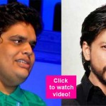Shah Rukh Khan keeps MUM over Tanmay Bhat's spoof on Lata Mangeshkar and Sachin Tendulkar - watch video!