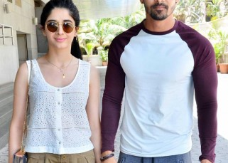 What's cooking? Mawra Hocane and Harshvardhan Rane spotted outside a Juhu theatre - View HQ pics!