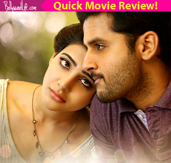 A Aa Quick Movie Review: Samantha's Earnest Performance Is
