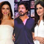 OMG! Shah Rukh Khan, Deepika Padukone and Katrina Kaif to share screenspace!