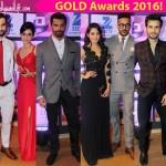Gold Awards 2016: Swaragini's Varun Kapoor, Karan Patel, Vivek Dahiya up the swag meter on the red carpet – View HQ pics!