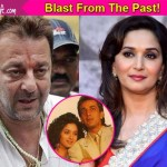 Oooh! Madhuri Dixit CALLS up Sanjay Dutt, and the matter is pretty serious!