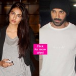 John Abraham, Athiya Shetty and Lauren Gottlieb spotted at the airport – View HQ pics