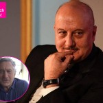 500 films and a congratulatory video from Robert De Niro, surely Anupam Kher is on TOP OF THE WORLD - watch video!