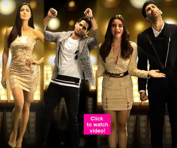 Dream Team tour promo: Alia, Varun, Katrina, Sidharth are ...