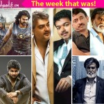 Baahubali sweeping CineMAA awards, Rajinikanth's Kabali teaser release, Twitter war between Vijay and Ajith fans - here are the top 5 newsmakers of the week!