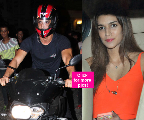 Sushant Singh Rajput S Latest Instagram Picture Is Going: Post Dating Rumours, Kriti Sanon And Sushant Singh Rajput