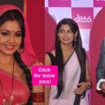 Bhabhi Ji Ghar Par Hai actress Shubhangi Atre Poorey and Kukum Bhagya stars Shabbir Ahluwalia - Sriti Jha dazzle at the launch of dittoTV app – view HQ pics!