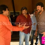 These rare pics of Chiranjeevi on the first day of Kathilanthodu will certainly feed your fan frenzy - view pics!