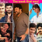 Chiranjeevi shooting for Kathilanthodu, Sivakarthikeyan's Remo first look launch - here are the top 5 newsmakers of the week!