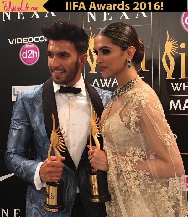 IIFA Awards 2016 update: Ranveer Singh and Deepika ...