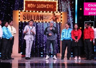 After Shah Rukh Khan, Salman Khan promotes Sultan on Marathi show, Chala Hawa Yeu Dya! - view pics!